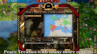 Europa Universalis III: Heir to the Throne Trailer