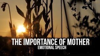 The Importance of MOTHER - [Islamic Speech in Urdu] - EMOTIONAL