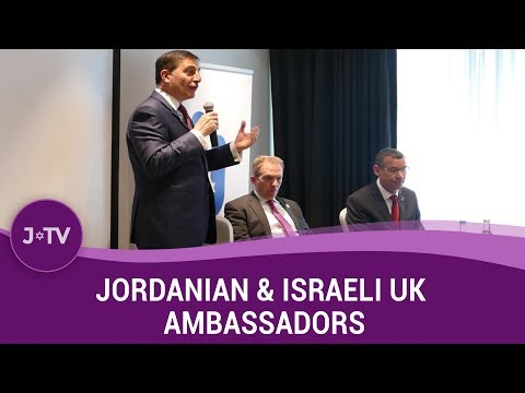 Jordanian & Israeli UK Ambassadors in conversation