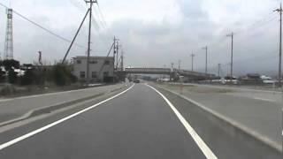 車載動画 沼田 綾戸から渋川バイパス方面へ
