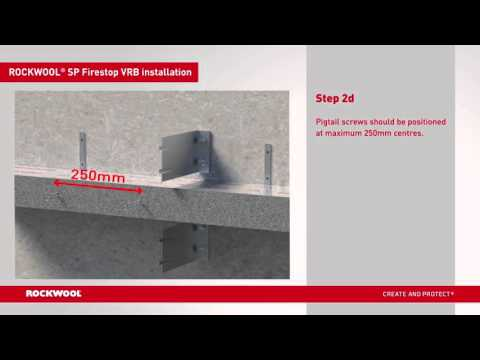 How to install ROCKWOOL Rainscreen Solutions