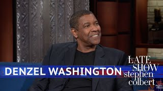 Denzel Washington's Dinner Table Has Seen Some Legends