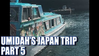 Umidah's Japan Trip Part 5: Numazu and Awashima Marine Park