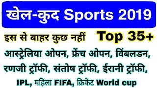 Sports Current affairs 2019 | खेल संबंधित करंट अफेयर | Sports gk Question