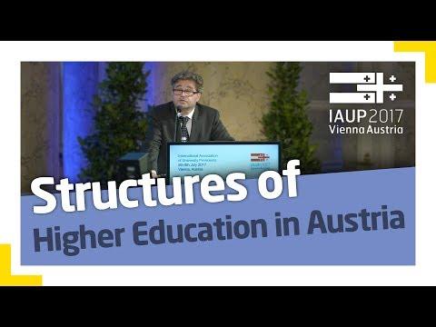 Heribert Wulz: The Austrian Higher Education Area