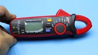 Обзор и тест  отличных токовых клещей UNI-T UT210E