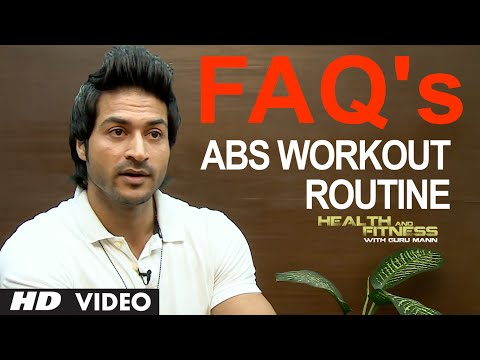 FAQ 4 Abs Workout Routine: How many Days We Should Train Our Abs In A Week? | Guru Mann