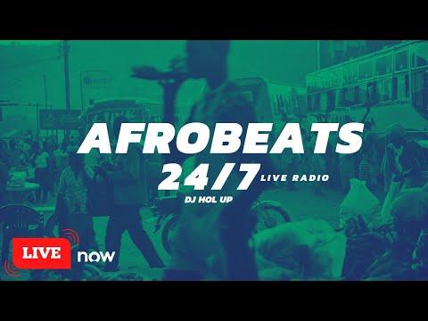 Afrobeats Live Set  🌍  Nonstop African & Afro-Pop Live Music (DJ Hol Up Radio)