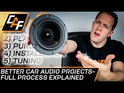 Build the BEST Car Audio System - Full process explained