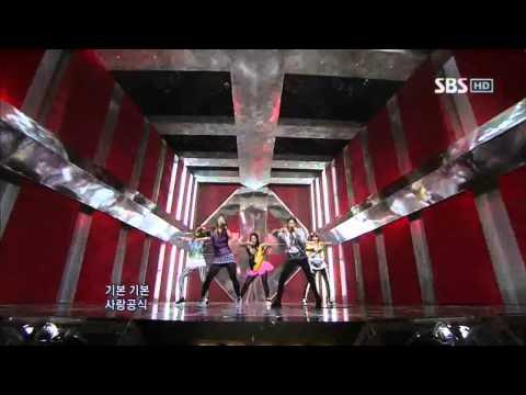 Fx  Nu ABO 에프엑스  Nu 예삐오 @ SBS Inkigayo 인기가요 100509