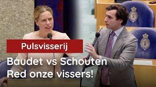 Baudet pakt Schouten genadeloos aan: red onze vissers!