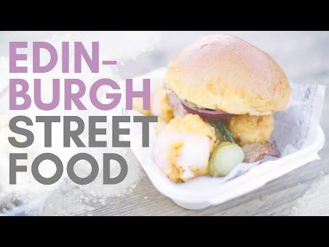 EDINBURGH STREET FOOD: Seafood In The Sun At FOOD & FLEA!