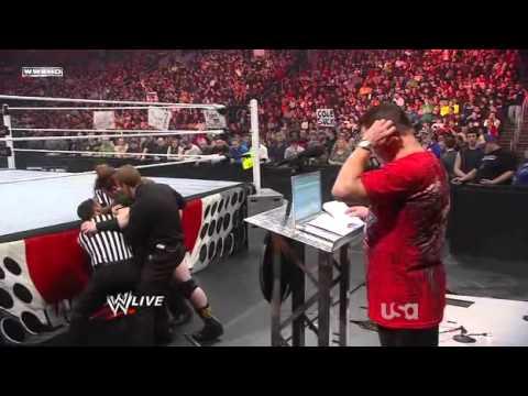 WWE RAW 22811 Evan Bourne Returns