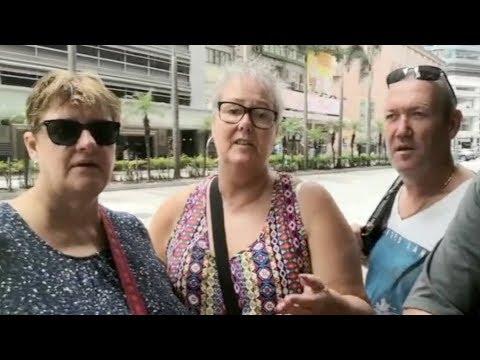Australian tourists call Hong Kong riots &39;a shame&39; 澳大利亞游客稱香港騷亂「可恥」