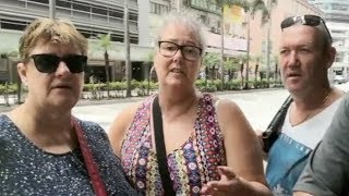 Australian tourists call Hong Kong riots 'a shame' 澳大利亞游客稱香港騷亂「可恥」