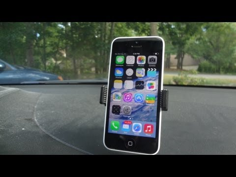 Bracketron Mi-T Grip™ GPS Dash Mount For IPhone 5c/5s And Android Smartphones Review