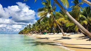 Dominican Republic - Saona Island Catamaran Cruise | Natural Pool Lagoon 4K