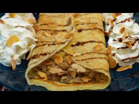 crÊpes-pomme-cannelle-(recette-française)---recette-rapide-et-savoureuse