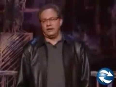 Lewis black on George Bush