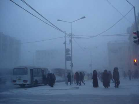 -51°C in Yakutsk City, Siberia / Russia. Yakutsk Weather.