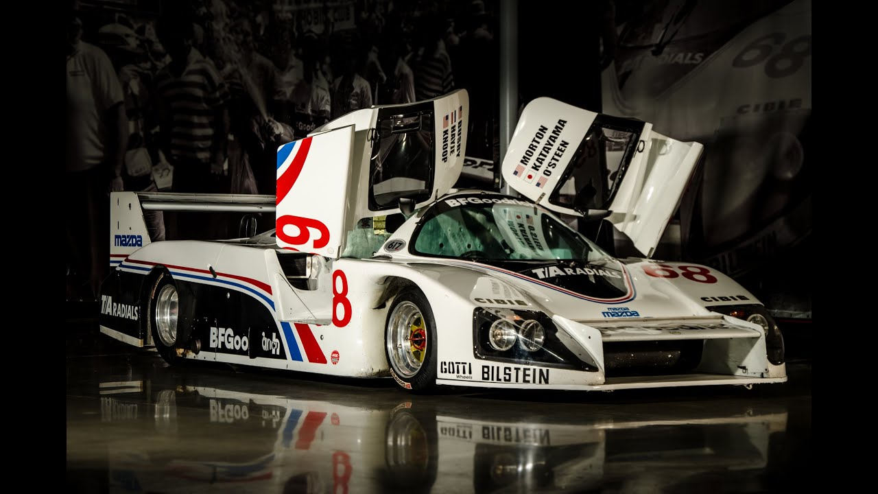 BFG MazdaLola T616 C2 LeMans Winner 1984 FOR SALE - YouTube