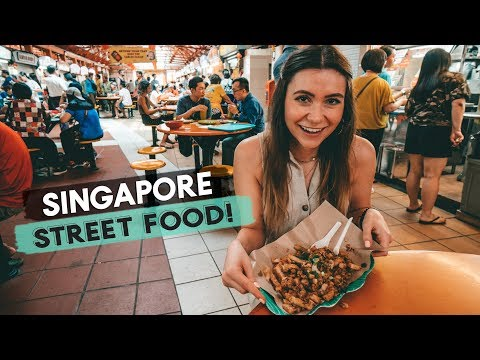 Singapore Food Markets! Street Food and Vegan Food