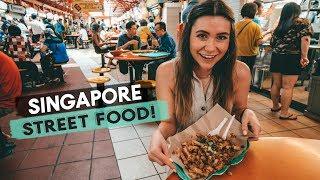 Singapore Food Markets! Street Food and Vegan Food