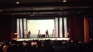UTEP INDHRADHANUSH 2012-Elephunk Theme Black Eyed Peas dance performance.MOV