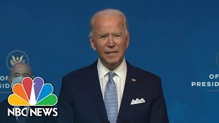 Biden Introduces National Security Nominees Who 'Embody My Beliefs' | NBC News