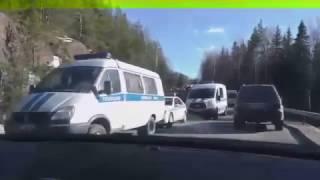 Смертельная авария на российско-финской границе