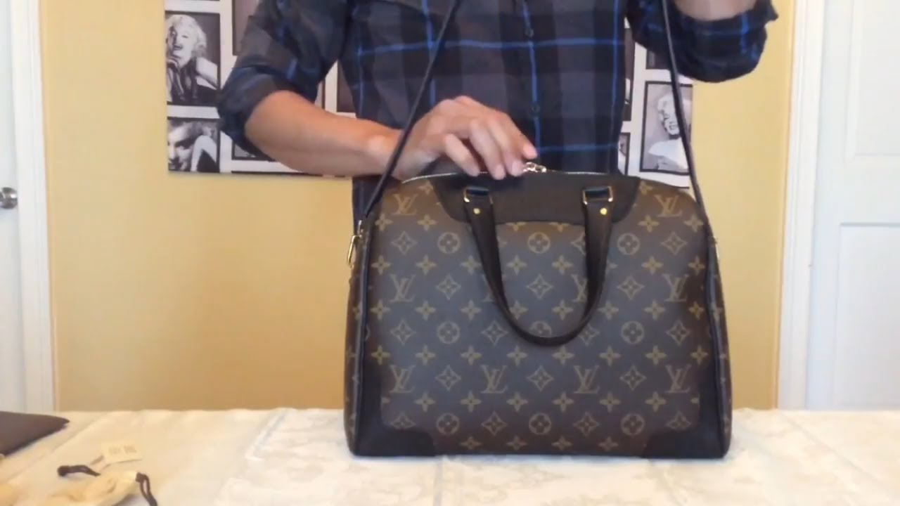 8668ba721730 Louis Vuitton Retiro Monogram Canvas in Noir. My favorite! - YouTube