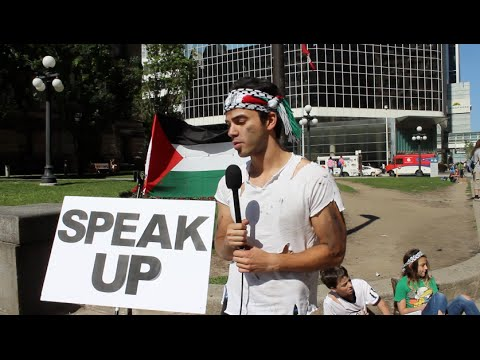 Random People Speaking Up For Palestine