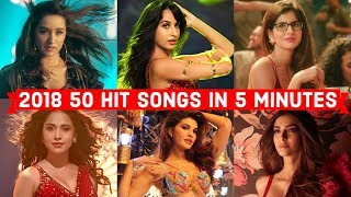 Download lagu 2018's 50 HIT BOLLYWOOD SONGS IN 5 MINUTES ( JANUARY - JULY ) | POPULAR BOLLYWOOD SONGS 2018