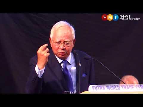 Najib sindir Dr Mahathir di hadapan pesara polis