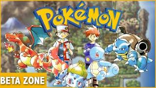 Pokemon Red & Green Beta History - Beta Zone