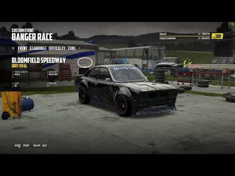 Wreckfest - Bloomfield Speedway Dirt Oval (1 Lap / A Class) [13.299]