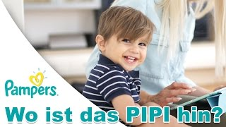 Wo ist das Pipi hin? Die neue Pampers Baby Dry (P) | PatrycjaPageLife