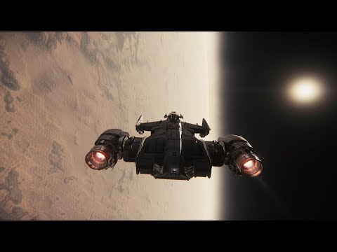 Star Citizen 3.0 - Chasing the setting sun -- 1080Ti -- Raw gameplay footage