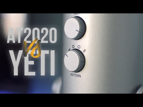 Blue Yeti VS AT2020: Which is better?