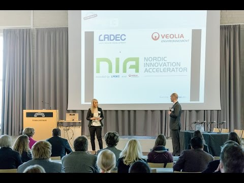 Cleantech Venture Day'13 -Launch of the Nordic Innovation Accelerator-