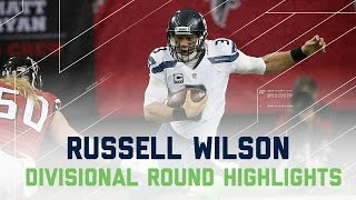 Russell Wilson's 2 TD Game! | Seahawks vs. Falcons | NFL Divisional Player Highlights