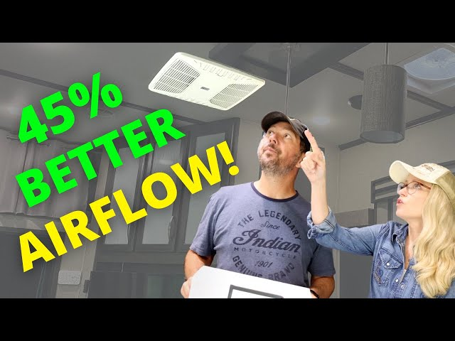 Turbo-Charge your RV AC with RV AirFlow! (40% Improvement on Average!)