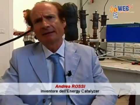 Catalizzatore di energia di Rossi e Focardi la fusione nucleare fredda