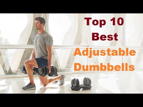 Top 10 Best Adjustable Dumbbells in 2020