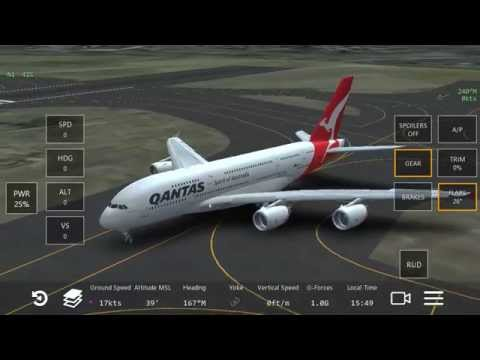 [FULL FLIGHT]  From Sydney to Canberra a380-861  Qantas