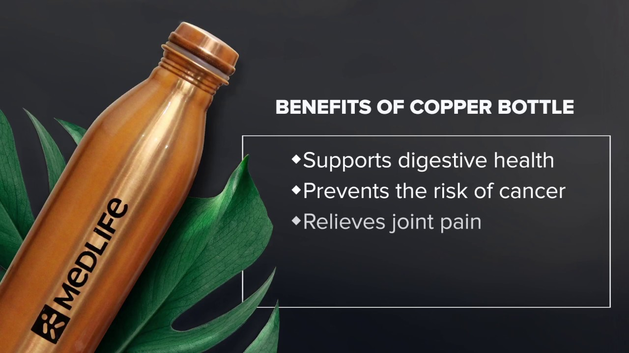 13 Benefits of Drinking Water from a Copper Bottle, Vessels