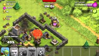 Clash of clans raid and reason for not recording