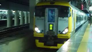 E257系500番台NB07編成臨時特急北総江戸紀行「新宿行き」新宿駅到着