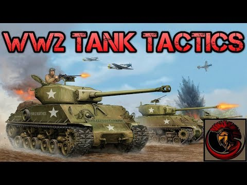 WW2 Tank Tactics - How Did They Work?