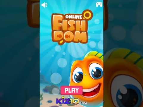 Fishdom Online - Online  Free Games  Kiz10.com -Taptapking.com